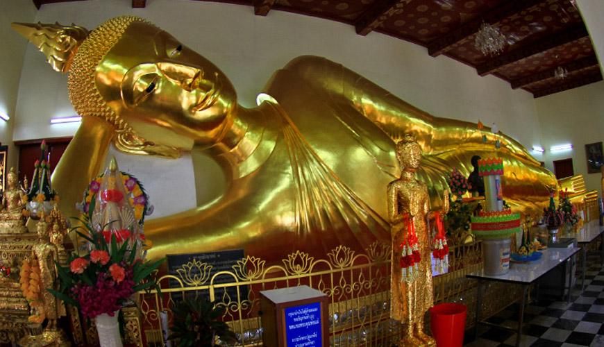 معبد بودای خوابیده یا بودای لمیده (Wat Pho)