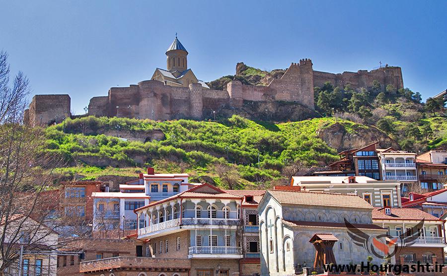 قلعه نارین گرجستان