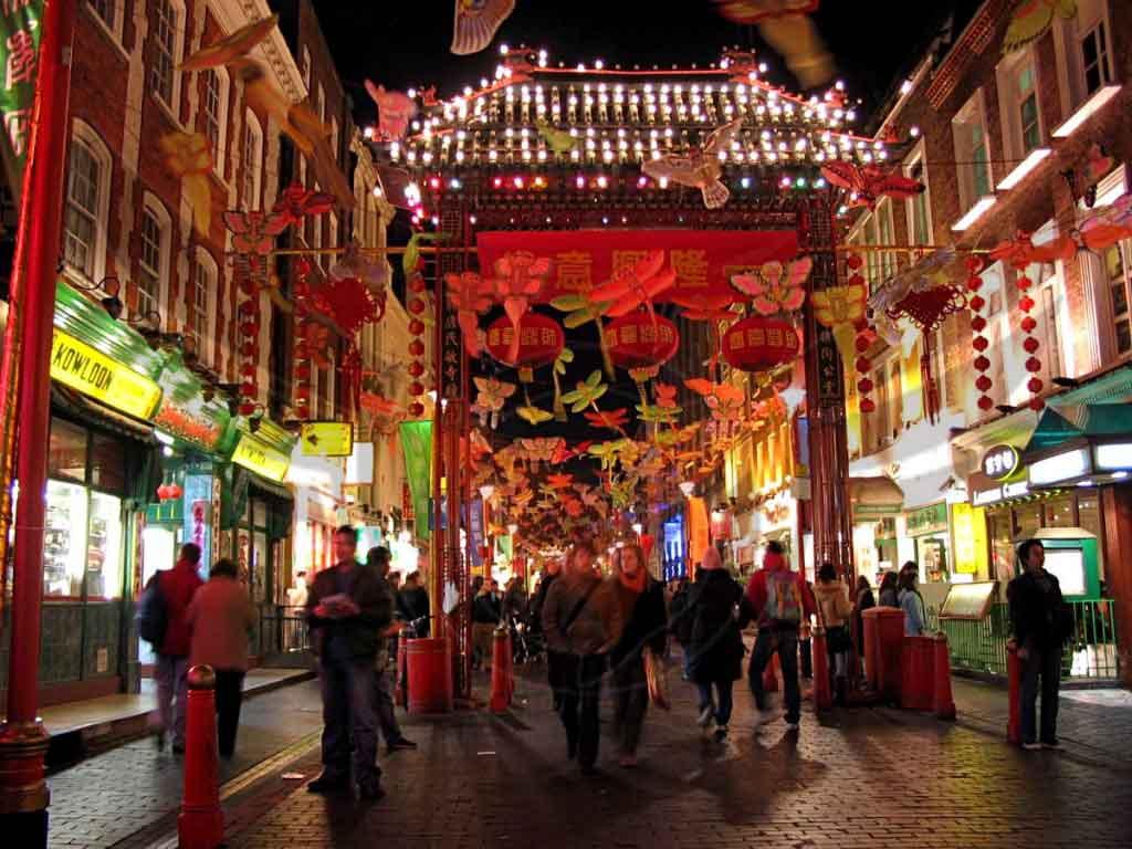 بازار محله چینی ها بانکوک (chines traditional bazar)