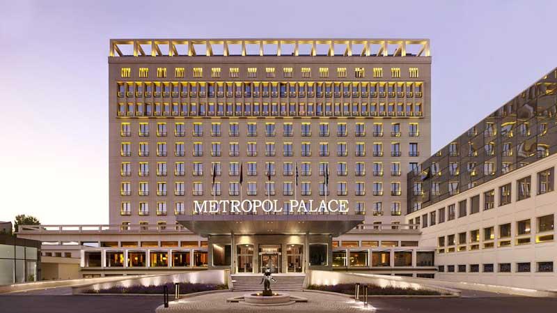 هتل متروپل پالاس، لاکچری کالکشن (Metropol Palace, A Luxury Collection Hotel)