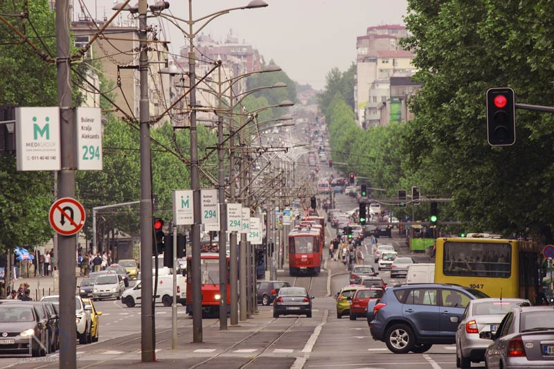 وسایل حمل و نقل در بلگراد صربستان   تراموا