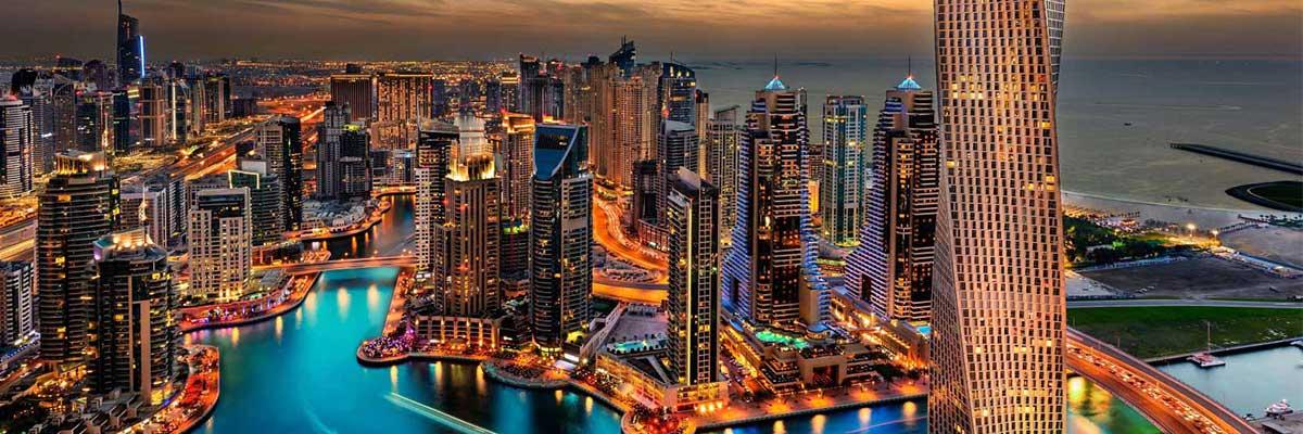 شهر زیبای دبی در امارات
