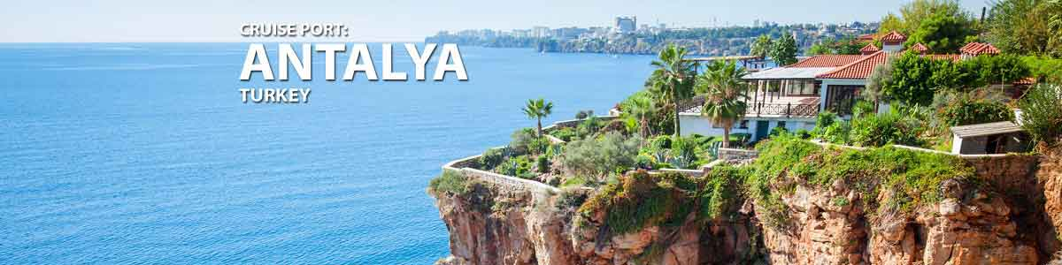 آنتالیا شهری توریستی با ساحلی زیبا