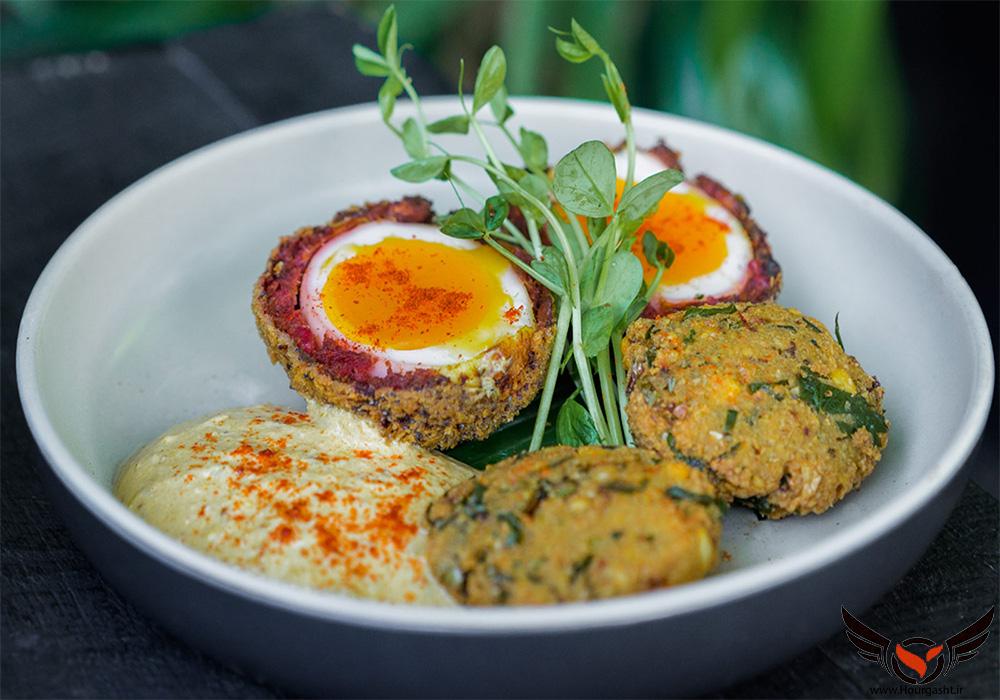 غذای سنتی بالی شبیه کوفته با تخم مرغ
