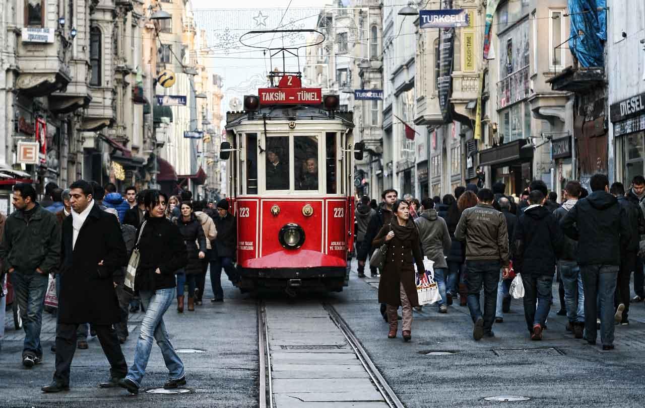 استانبول شلوغ