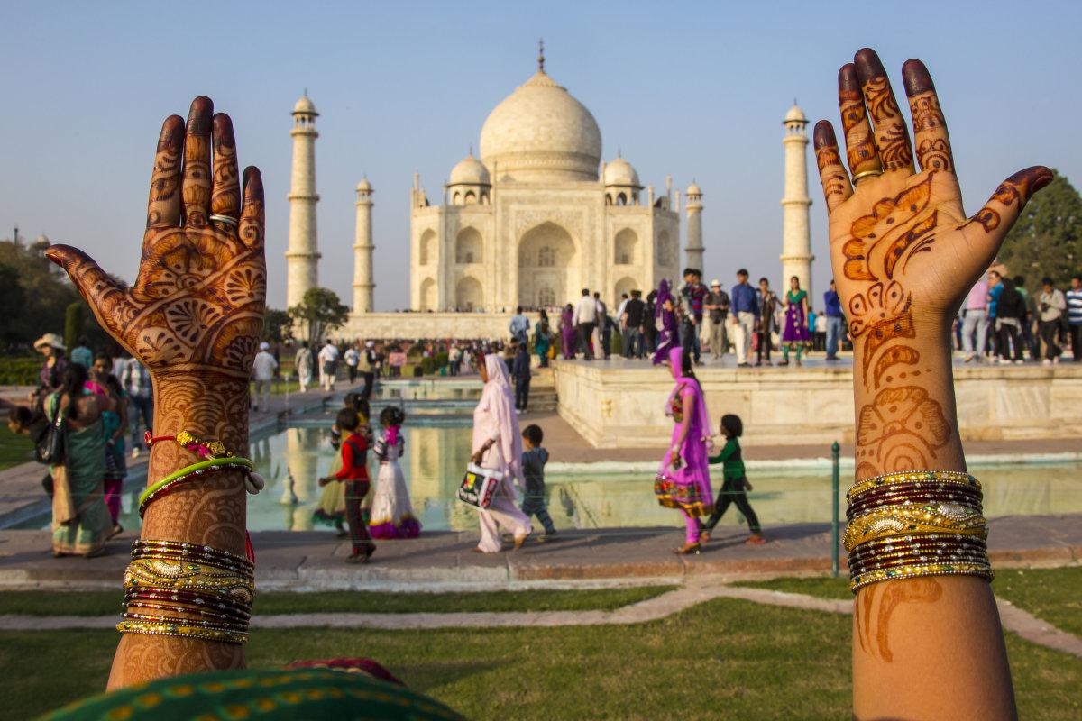 هندوستان زیبا تاج محل
